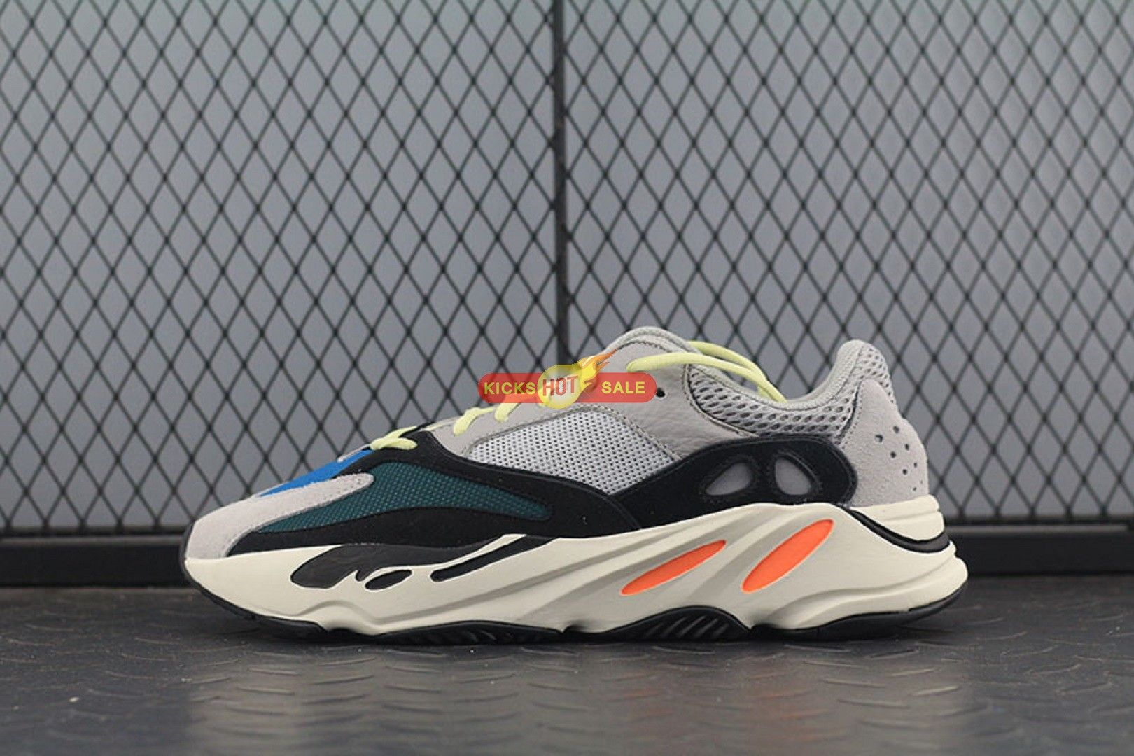 new concept b8b21 1cf06 adidas Yeezy Wave Runner 700 Solid Grey B75571 | From ...