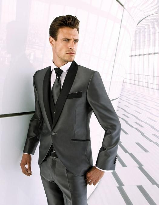 Cool Beautiful Mens Charcoal Wedding Suits My Site
