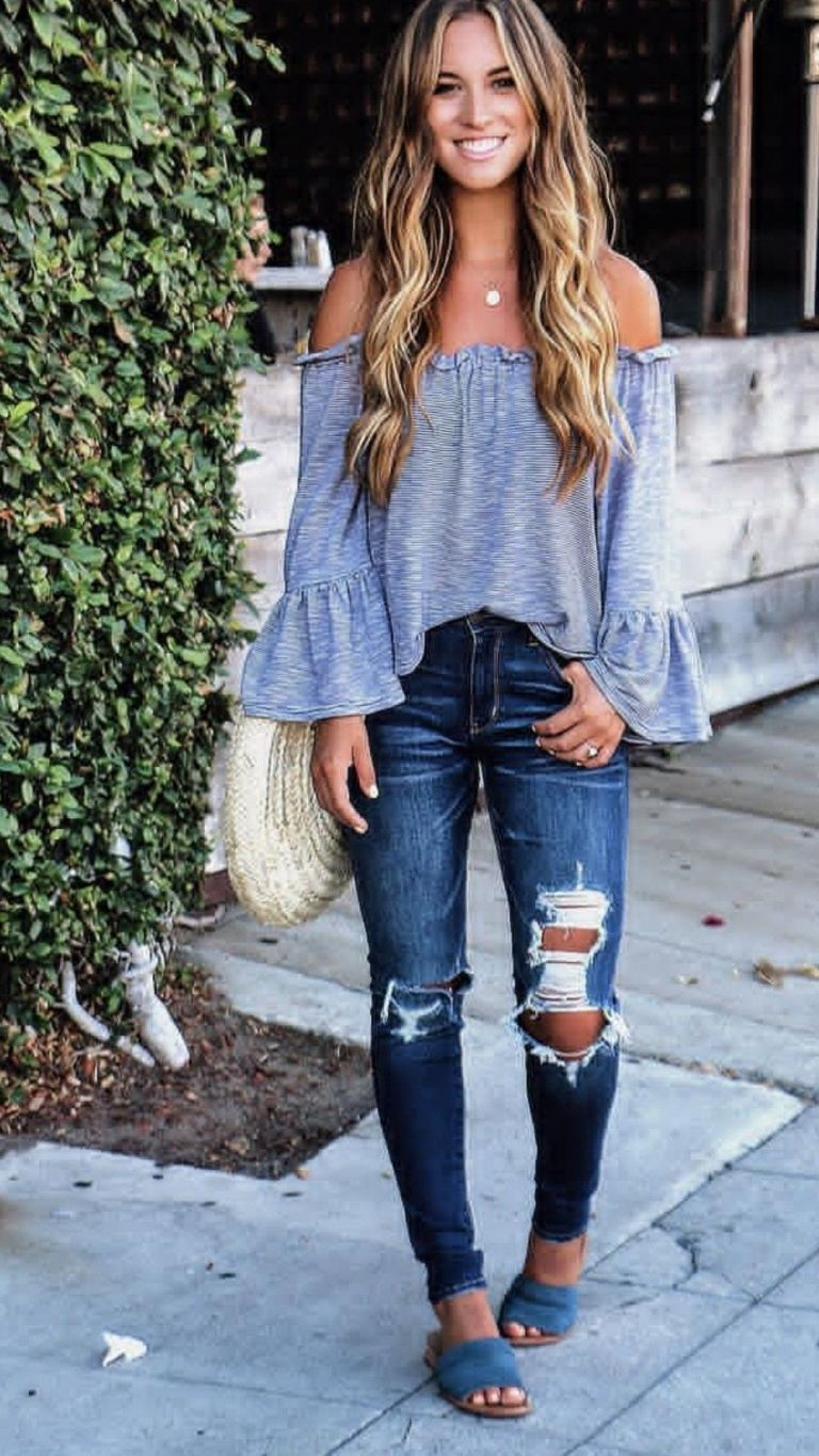 cool spring outfits 50+ best outfits #trendyspringoutfits