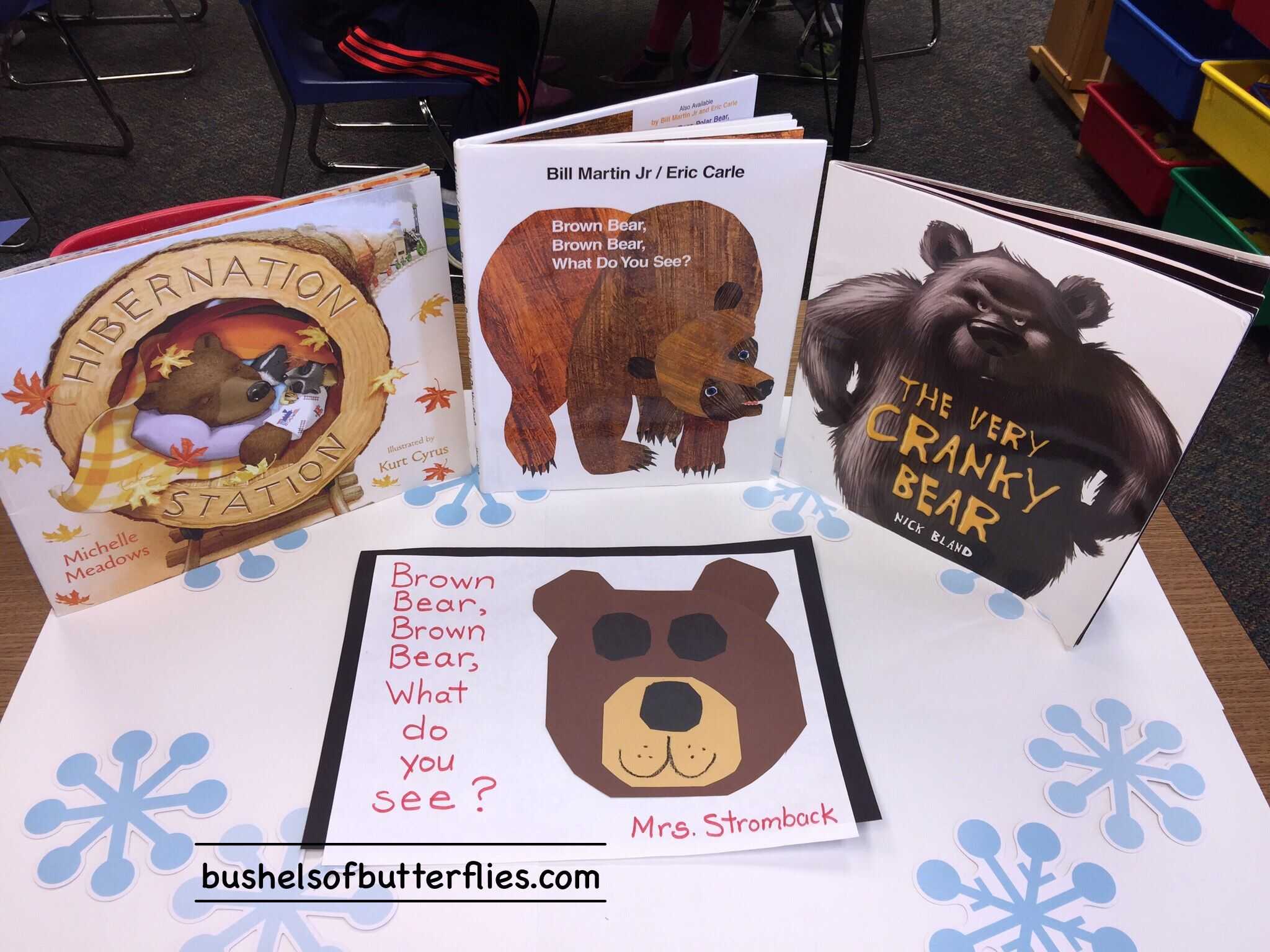 Kindergarten Bear Unit Stories And Art Project Winter