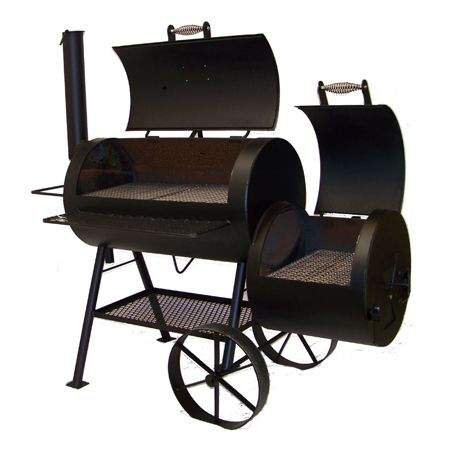 Check out this Classic Backyard Smoker made in Perry, OK ...