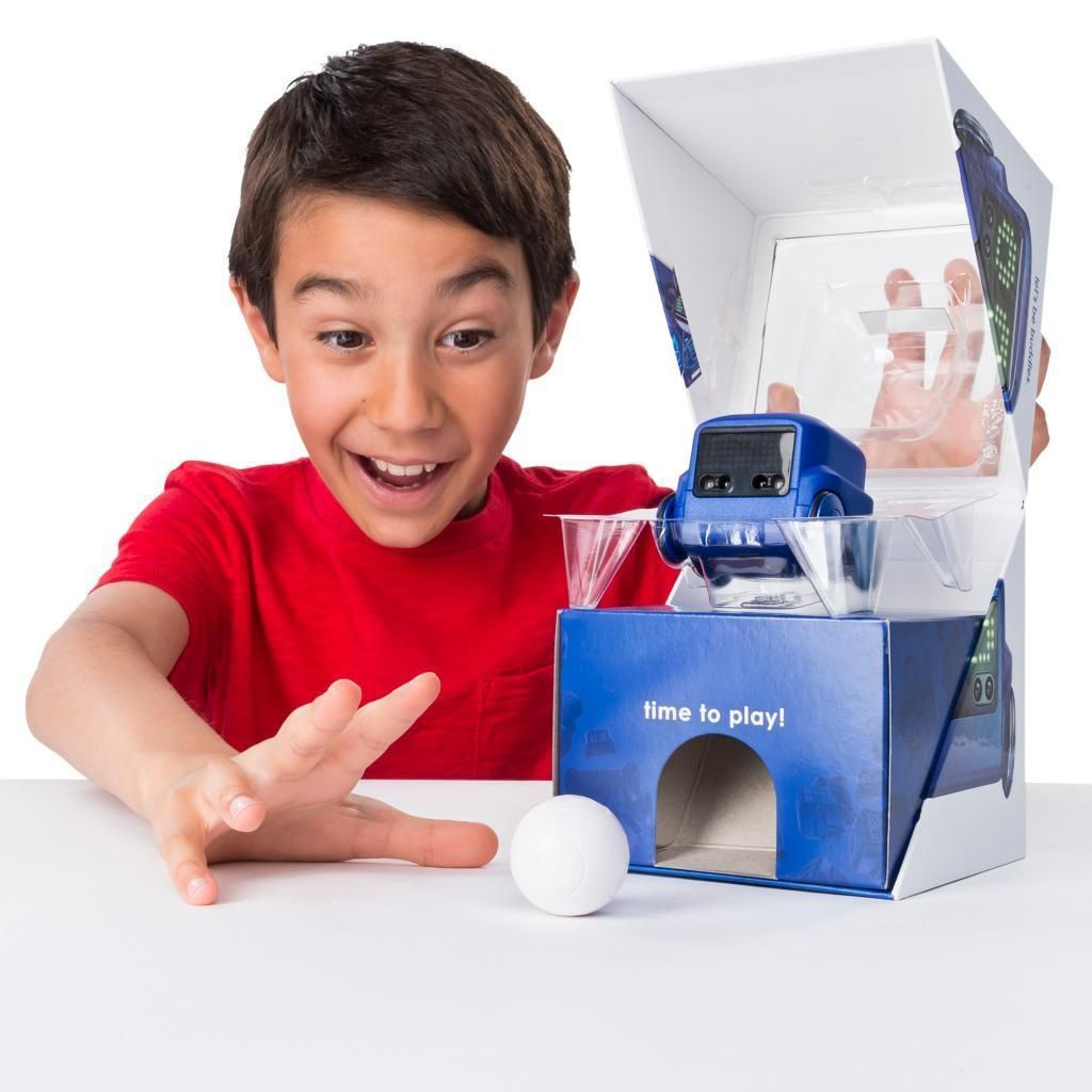 Details about boxer interactive ai robot toy blue in