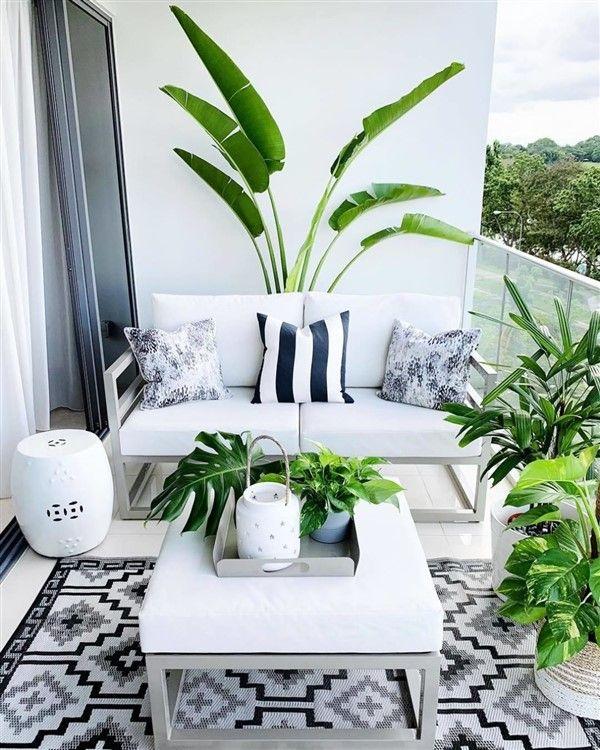 Evinizin Her Yeri için Beyaz Ev Dekorasyonu Mümkün - Dekoloji - Ev Dekorasyon Fikirleri Blogu #smallbalconyfurniture