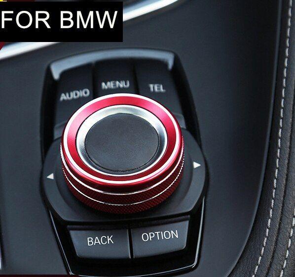 Photo of マルチメディアのロータリーボタン装飾リングBMW
