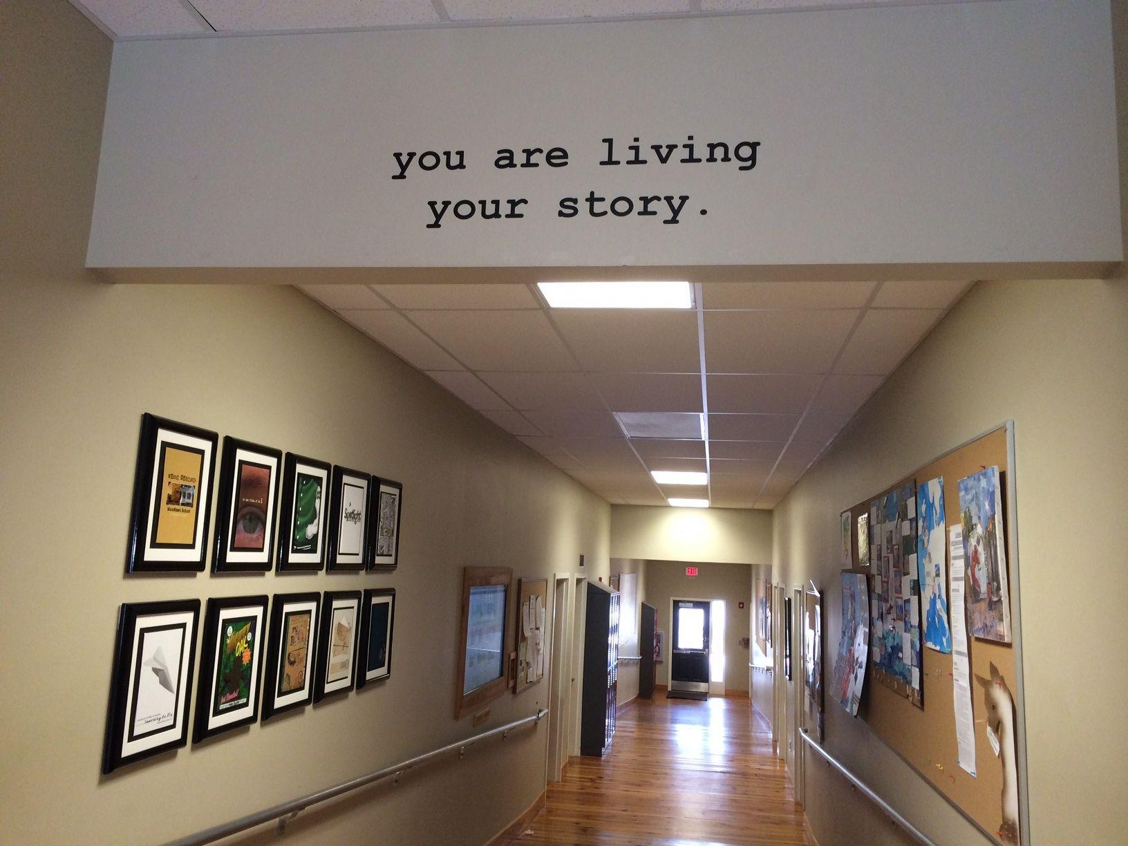 Customer photo from Woodlawn School in North Carolina. We