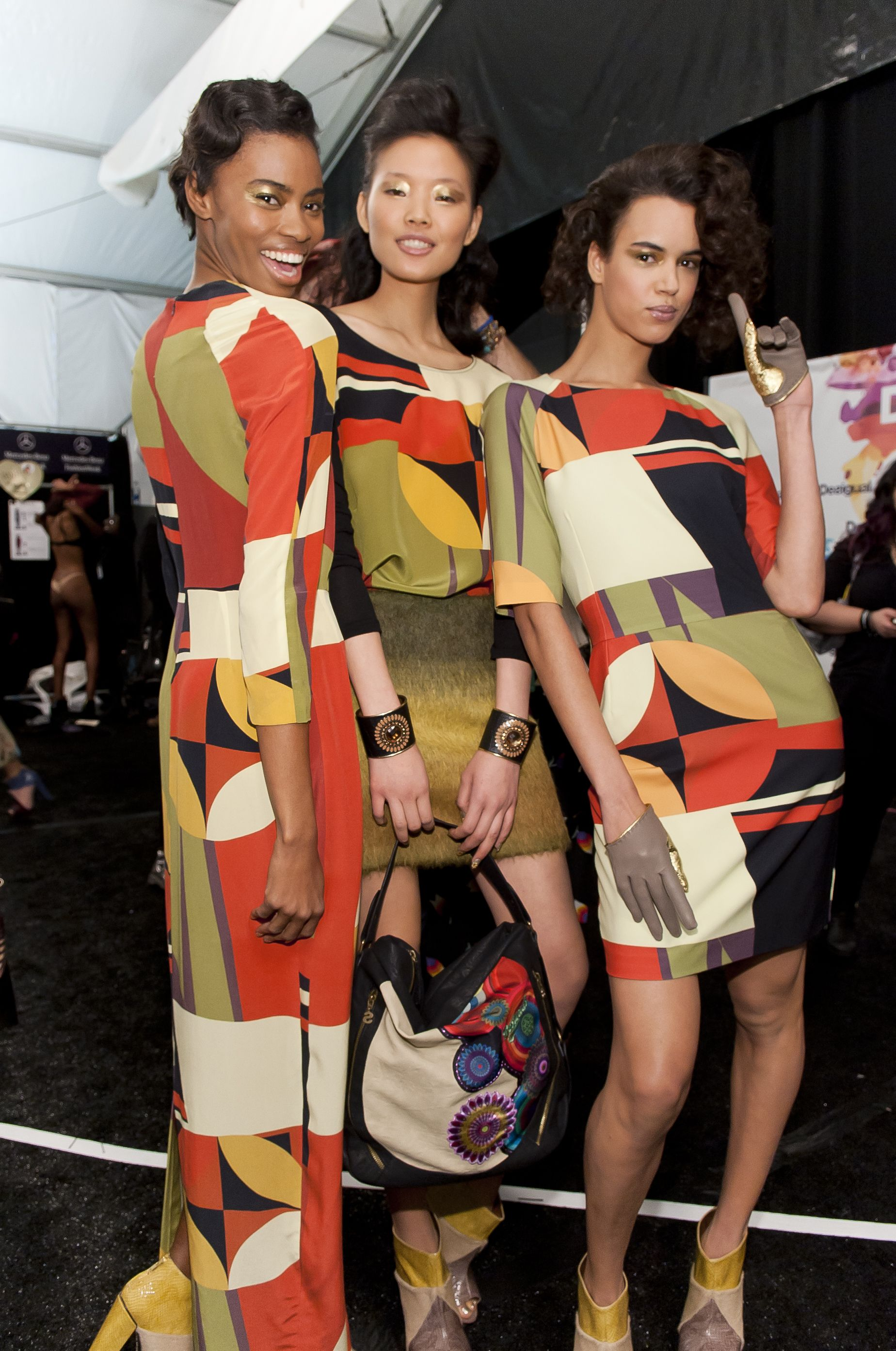 Colors, colors and colors! This is our secret to happiness! #NYFW
