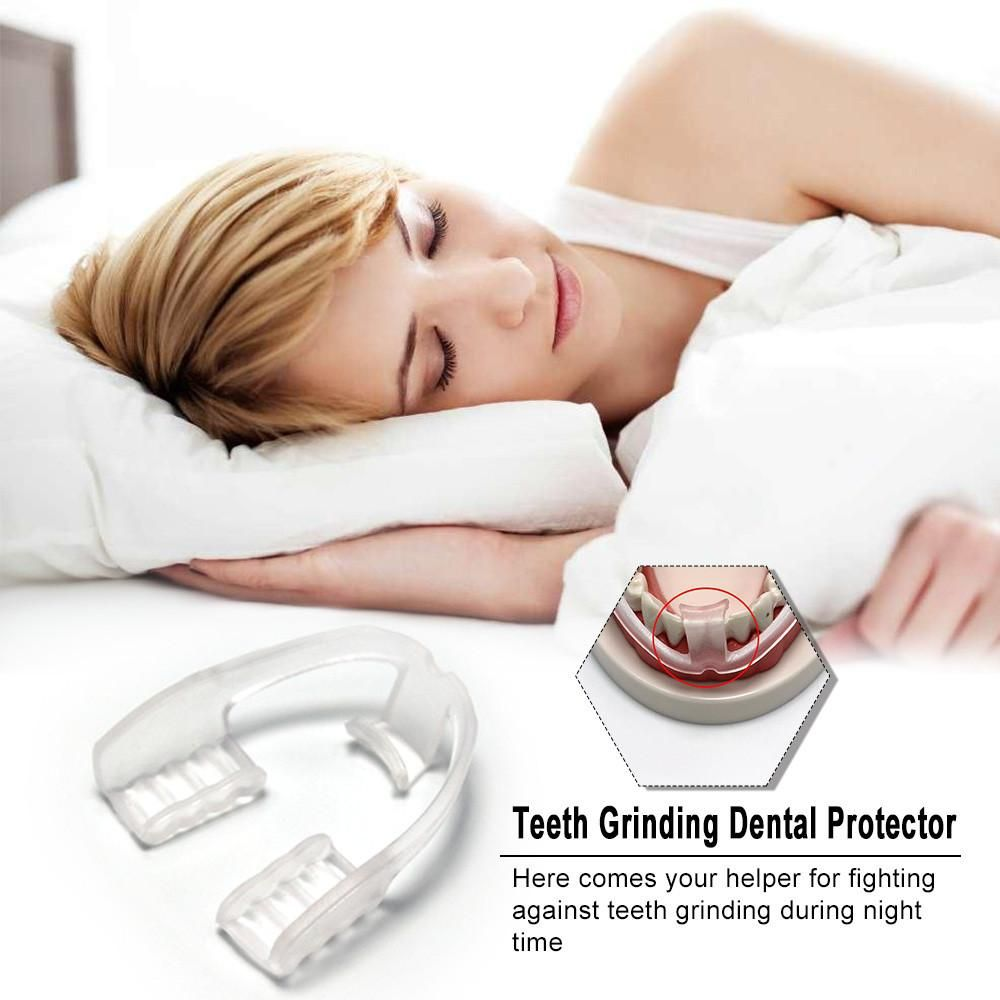 Advanced Comfort Mouth Guard Stop Teeth Grinding Dental