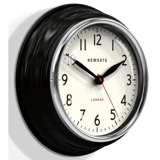 Newgate Clocks Cookhouse Wall Clock - Black