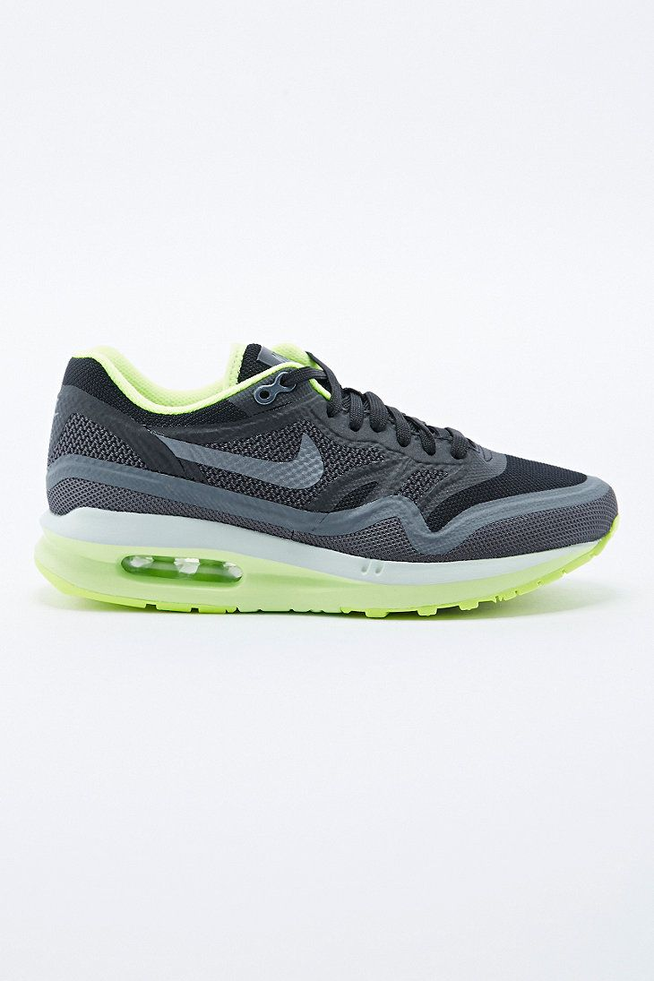 ff409406ee255 Nike Air Max 1 Breathe Trainers in Green and Black - Urban Outfitters £105  ...