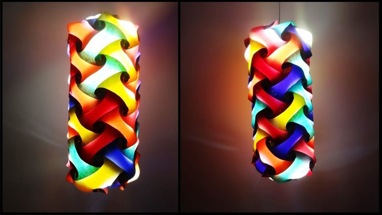 Paper Crafts Diwali Decoration Ideas Beautiful Multicoloured Lantern Diy Lanterns Multicoloured Lanterns Paper Lanterns Diy