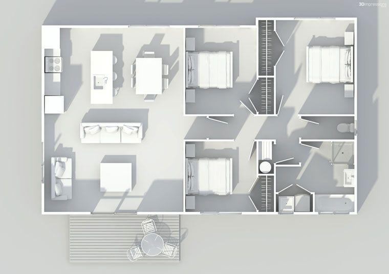 Latitude Homes - Kitset Homes - NZ 96   If I ever build a house ...