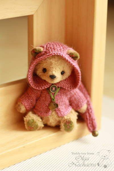 Flo By Ольга Нечаева - Bear Pile   Tiny Bears - Patterns   Pinterest