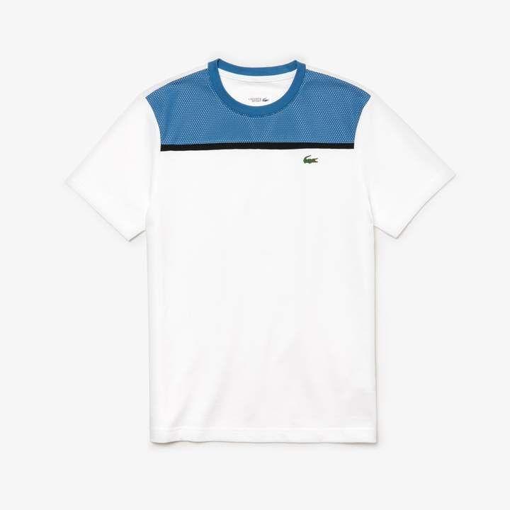 Men S Sport Ultra Light Cotton Tennis T Shirt Tennis Tshirts Lacoste Sport Lacoste