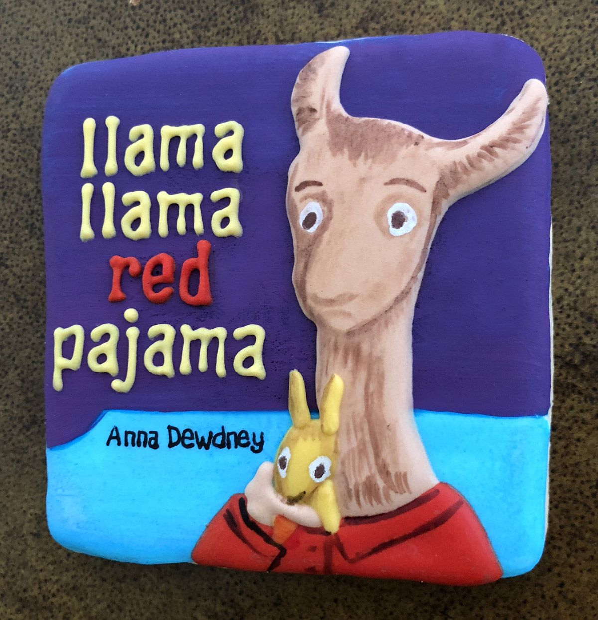 Llama Llama Red Pajama Book Cookie