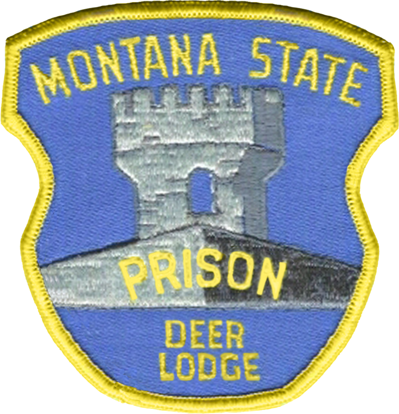 US State of Montana Department of Corrections Patch
