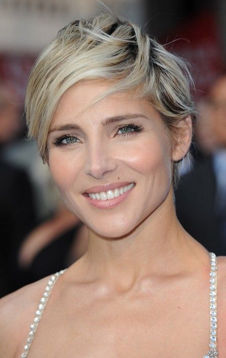 Elsa Pataky Short Hair At The Fast Furious 6 World Premiere After Party At Somerset House Short Hair Styles Hair Beauty Cool Hairstyles