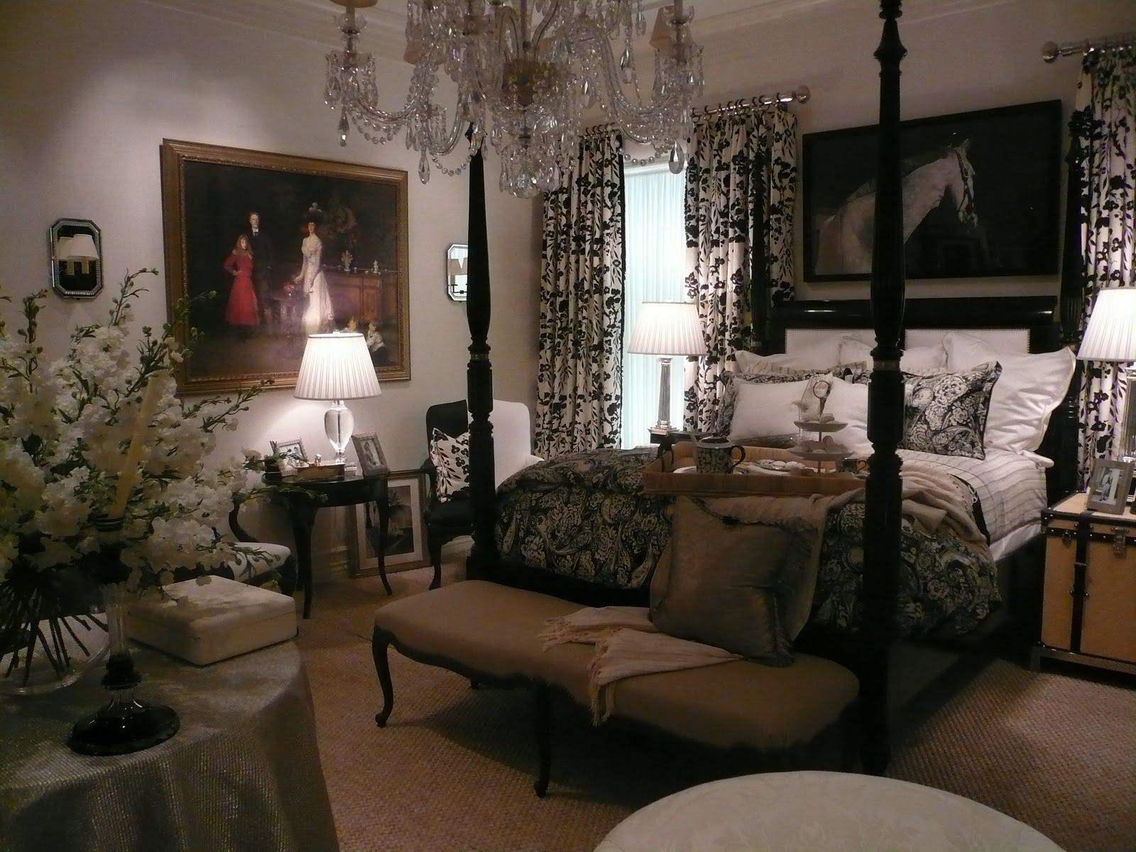 enchanting bedroom decorating inspiration photos | Enchanting Ralph Lauren Bedrooms Images Pictures ...