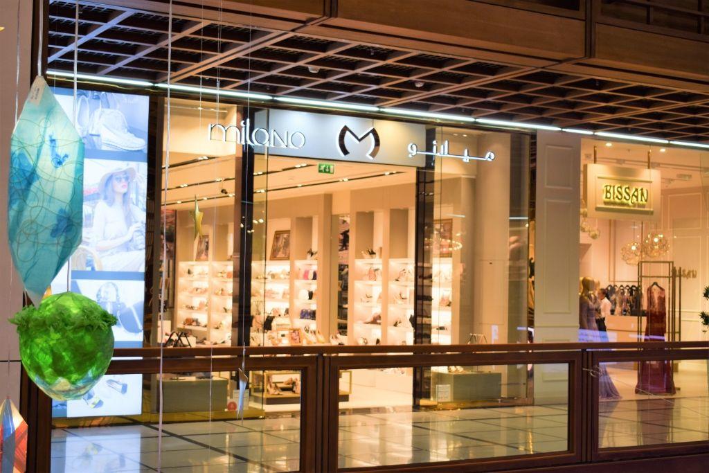 إفتتاح متاجر جديدة المول في المركز التجاري العالمي أبوظبي عين دبي تعرف على مطاعم واماكن السهر فى دبي Structures Milano Road