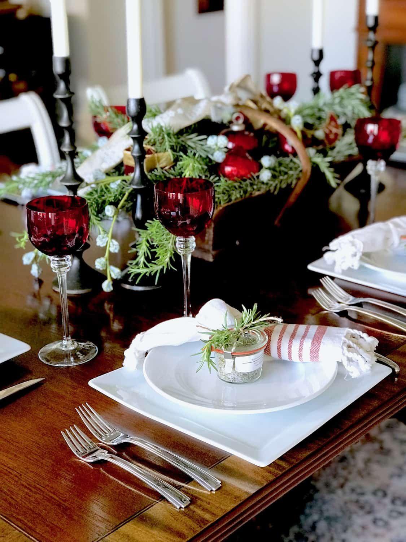 Sicilian Herb Salt Recipe Christmas Table Christmas Table Settings Holiday Tables