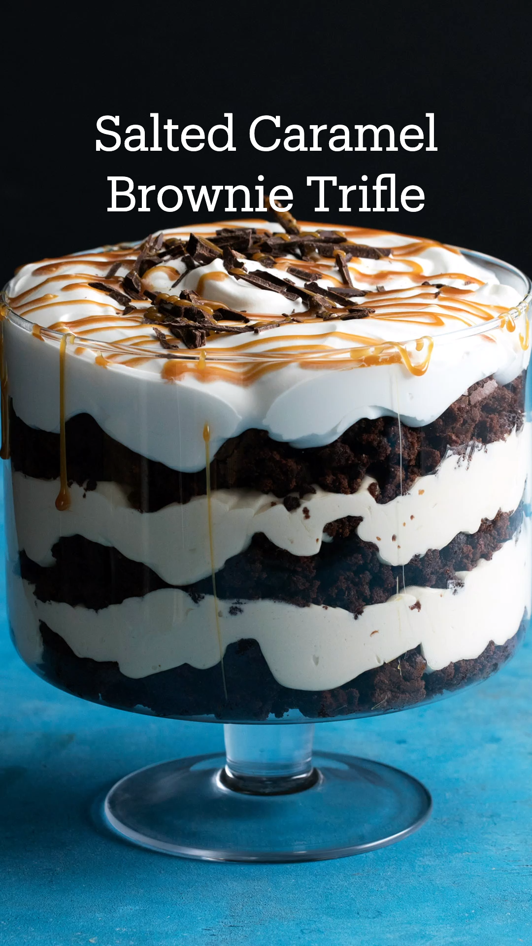 Photo of Salted Caramel Brownie Trifle
