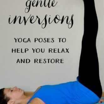 gentle inversions  sublimely fit  gentle yoga