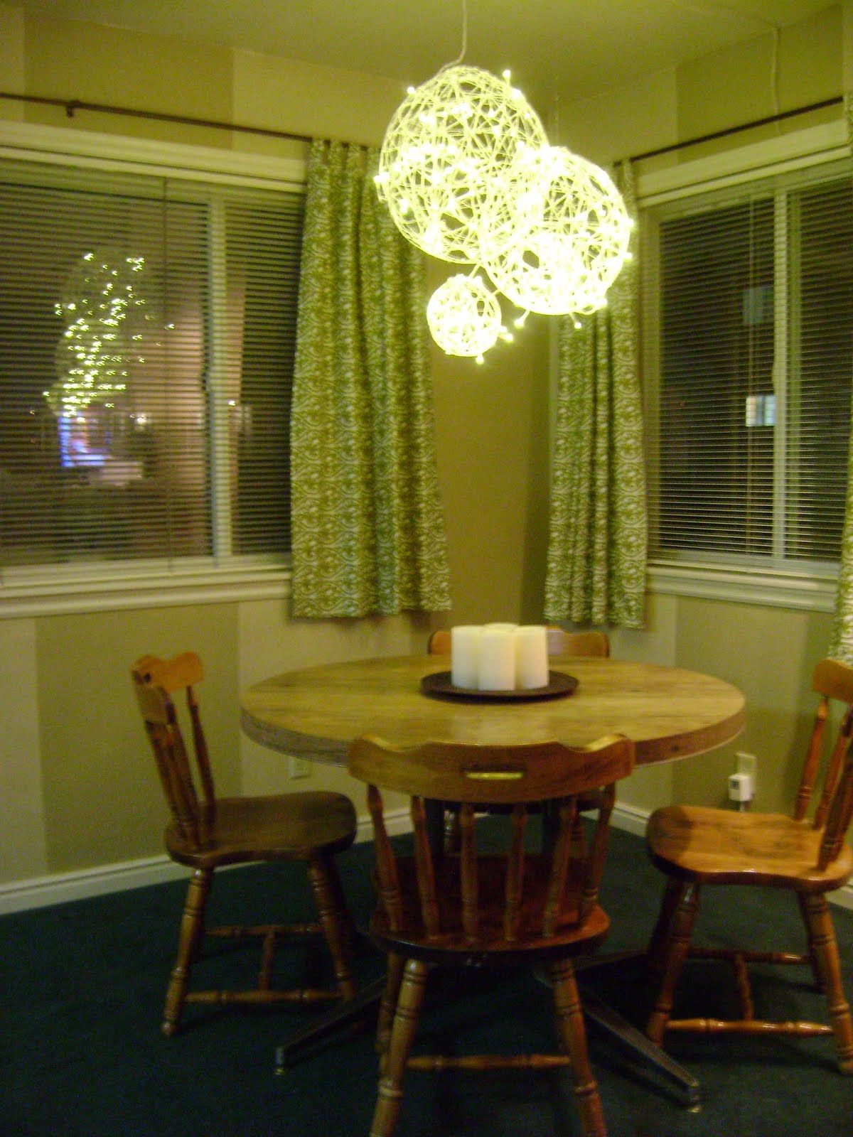 Wedding decoration ideas in the house  DIY Balloon u string chandelier  DIY  Pinterest  Chandeliers Fun