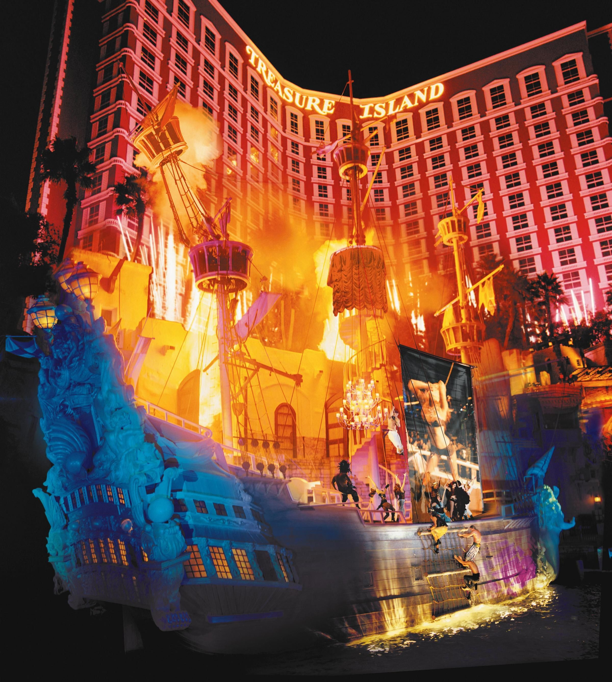 See you FRIDAY Treasure Island Ahhhh 3 Sirens of TI free live performances four times each night weather permitting on the Las Vegas Strip at
