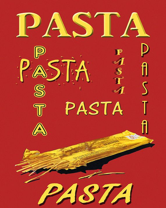 Food 16x20 Spaghetti Pasta Great Food American by HeritagePosters