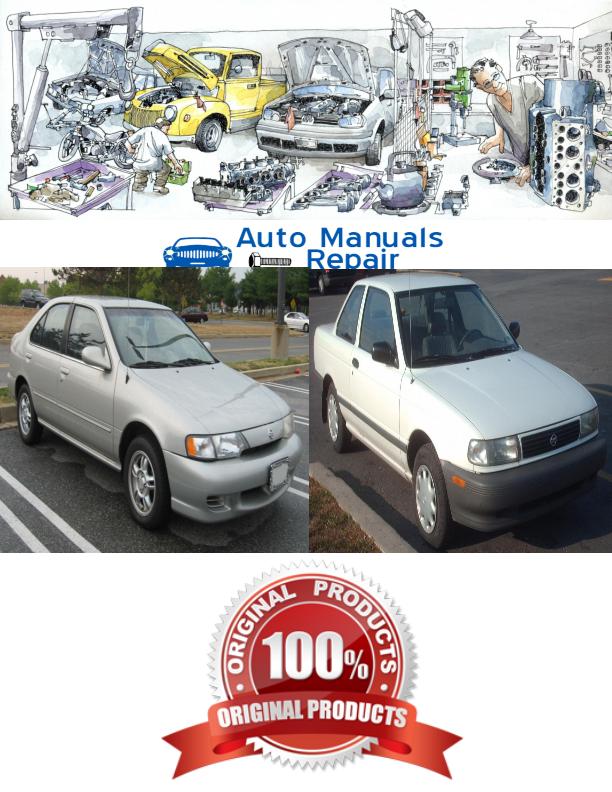 nissan sentra 1994 1999 services repair manual nissan services rh pinterest com 2003 Nissan Sentra Manual 1998 Nissan Sentra Manual