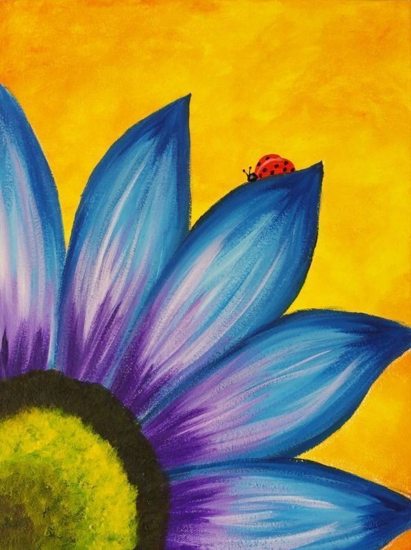 20 Best Canvas Painting Ideas For Beginners Step By Step S