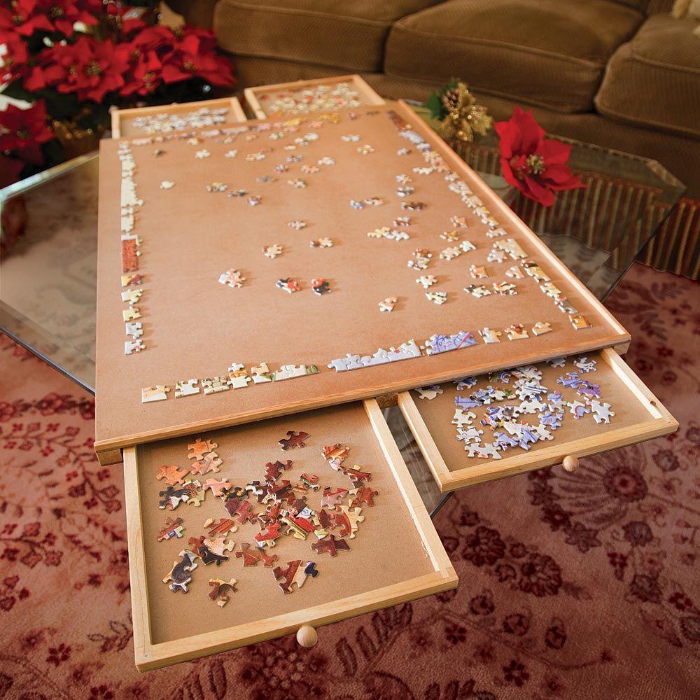 Jumbo Puzzle Plateau 1500 Puzzle Storage Jigsaw Puzzle