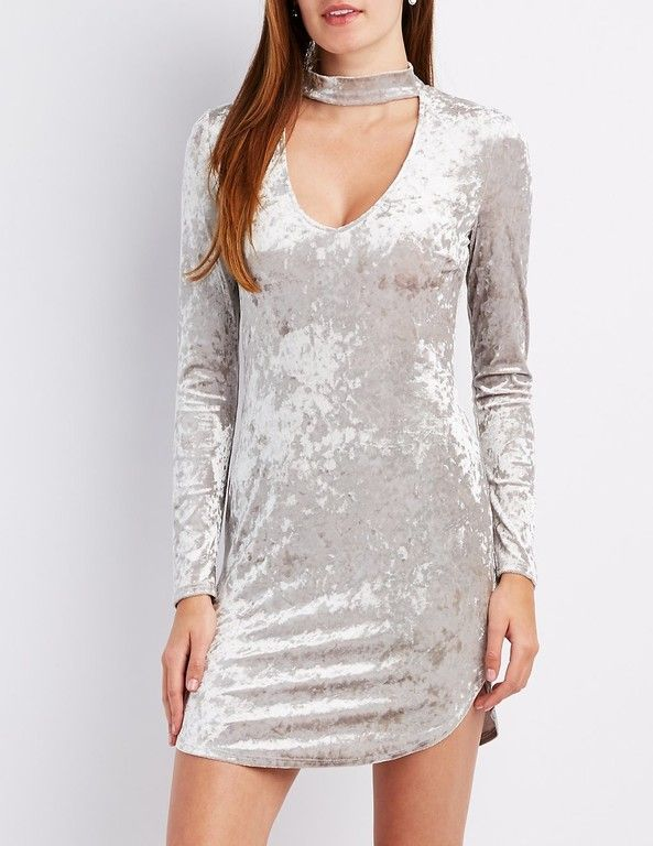 15b24452ce7ed  CRItsOn White Velvet Dress