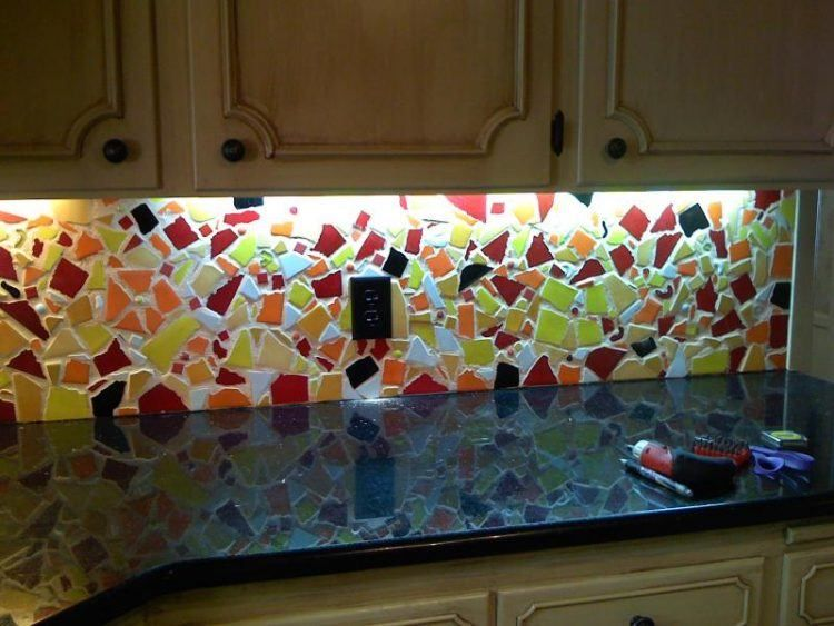20 Beautiful Mosaic Backsplash Ideas Kitchen Mosaic Mosaic