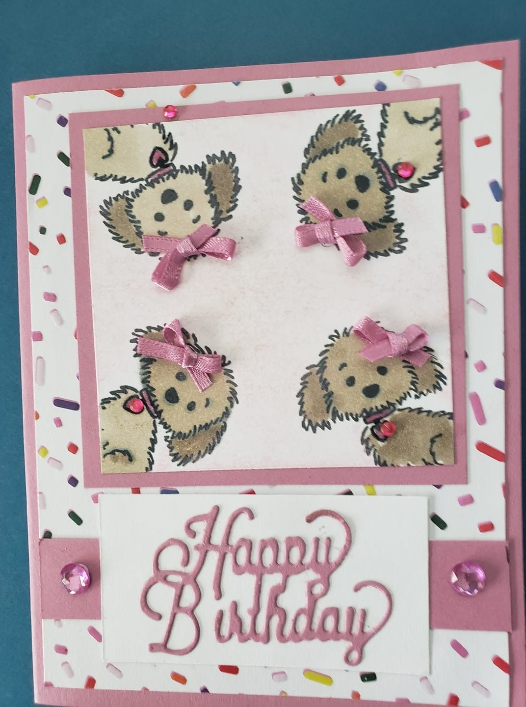 Geburtstagskarte Basteln Hund Love This Card Made With Bella And Friends From Stampin Up