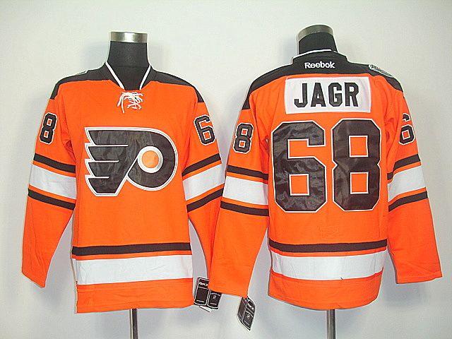 51df5b223 Philadelphia Flyers 68 Jaromir JAGR 2012 Winter Classic Jersey ...