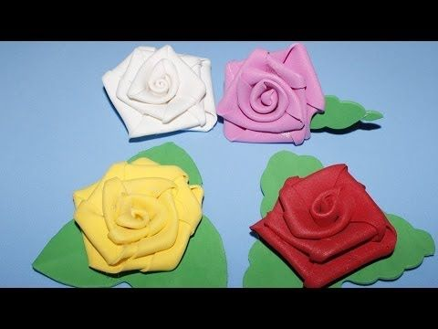 Flor De EVA - Tutorial Rosa de EVA
