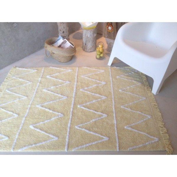Tapis Hippy Yellow 120x160 cm - Lorena Canals