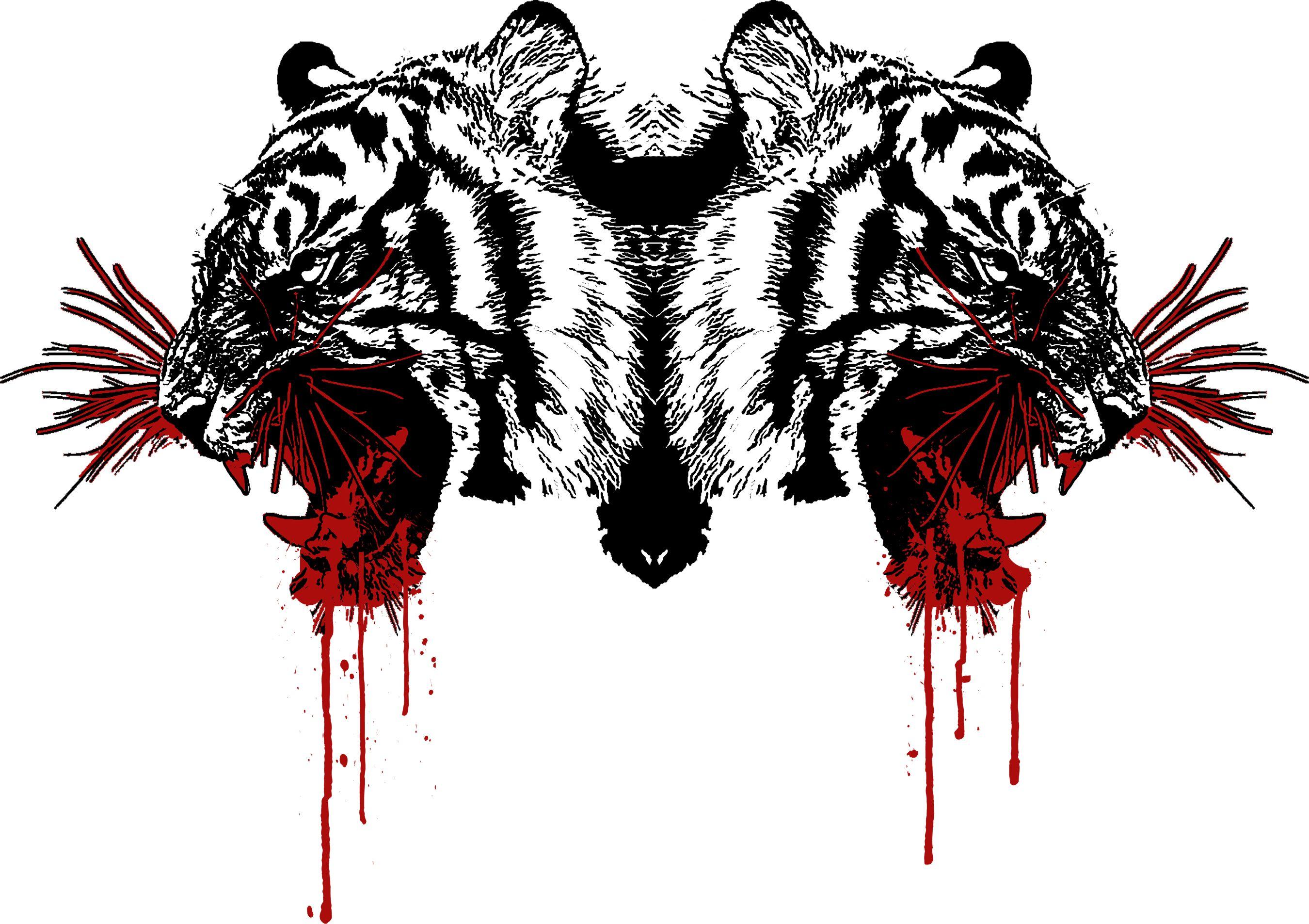 картинки кровавый тигр самое интересное