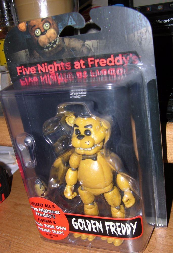 Five Nights At Freddys Fnaf Freddy Funko Figure 2016 Boxed New Very Rare