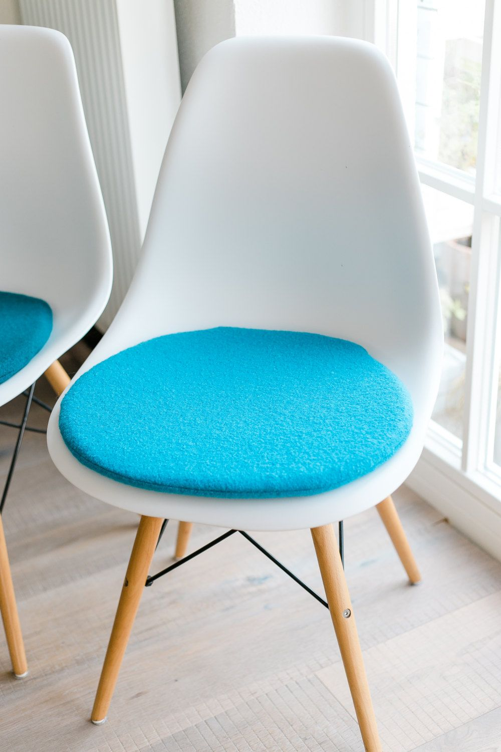 seat cushion for eames chair in aqua n hen pinterest sitzkissen kissen und st hle. Black Bedroom Furniture Sets. Home Design Ideas