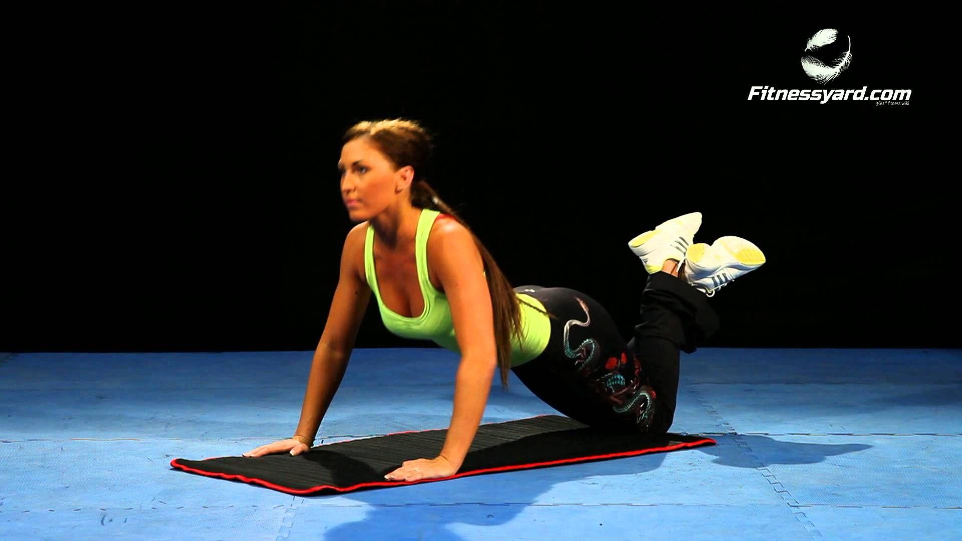 تمرين الضغط للصدر الغوص Exercise