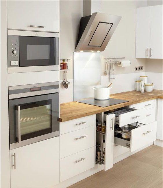 Leroy Merlin Cocinas Meuble Cuisine Blanc Cuisine Appartement