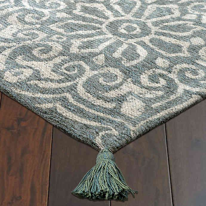 Bee Willow Home Laguna Rug In Aqua Aqua Bedding Rugs Rug Pad