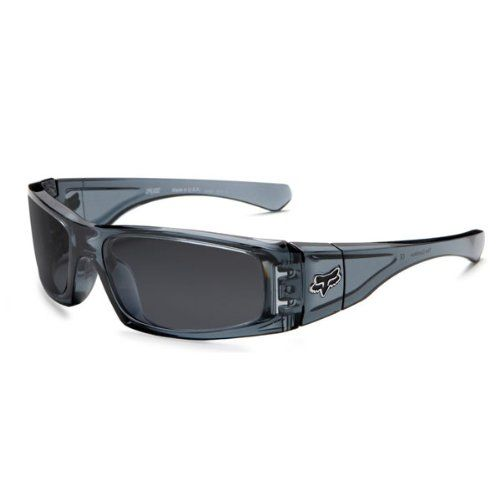 b71e4215bf Fox Racing Sunglasses Limited Edition The Condition Crystal Black   Grey  Lens (42-202)  49.99