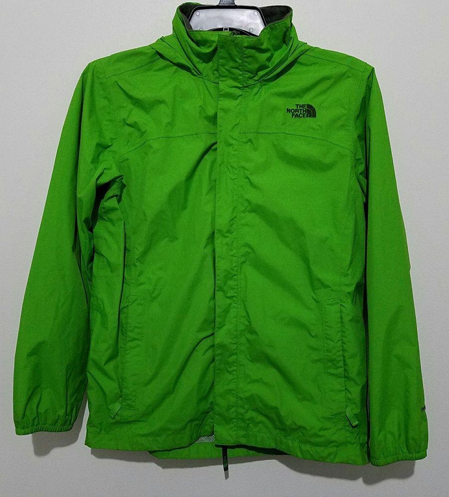 North Face Hyvent Rain Jacket Lime Green Gray Hooded Youth Kids Size Xl 18 20 Thenorthface Raingear Everyday Ebay Ebayst Raincoat Fall Jackets Rain Jacket [ 1000 x 902 Pixel ]