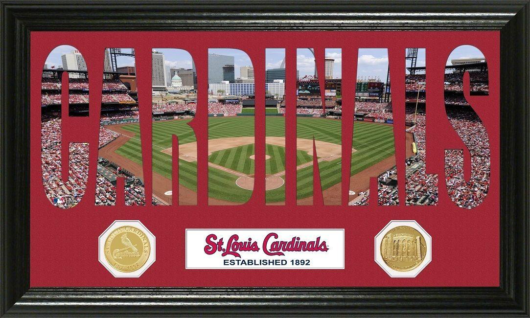 "AAA Sports Memorabilia LLC St Louis Cardinals ""Word Art"