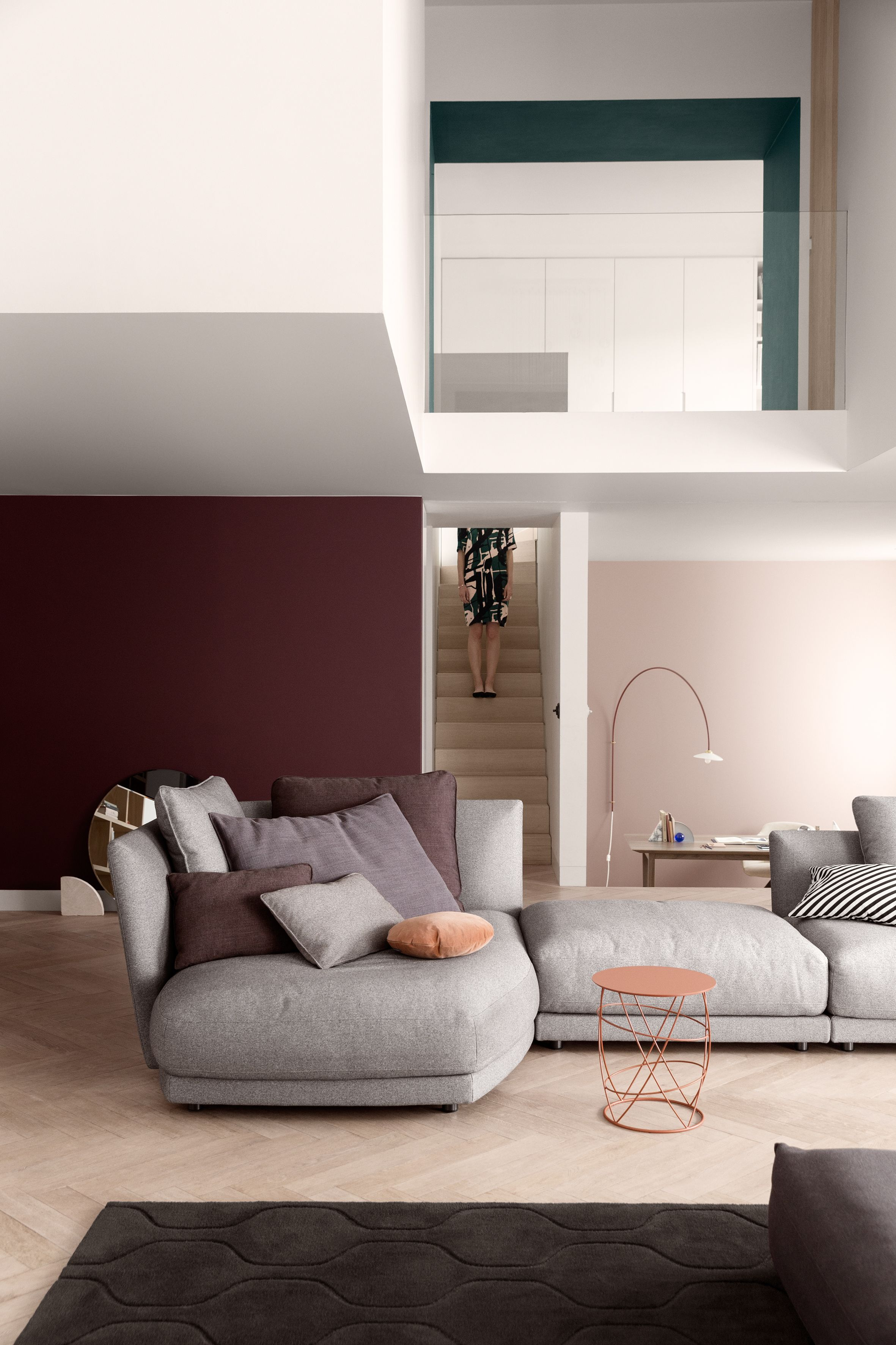 Rolf Benz Tondo Sofa Is Incredibly Cozy The Tondo Comes In Two Different Comfort Levels Choose The Right One For You And Make You Schuller Color Composition