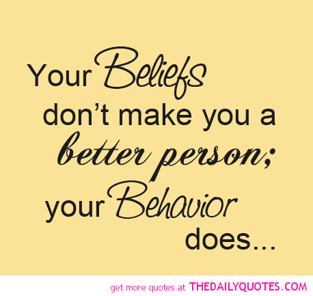 Read Complete Your Beliefs Dont Make You A Better Person Your