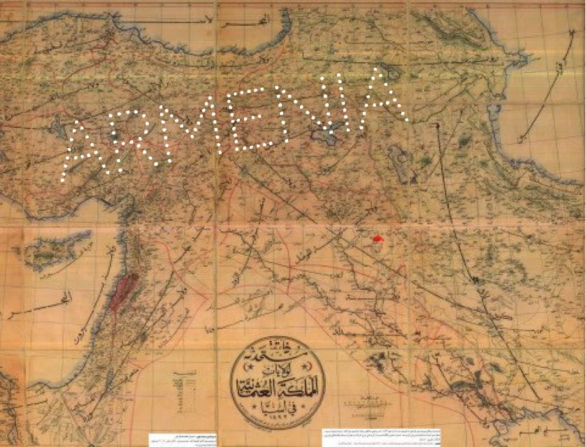 Map of Armenia Map of Armenia