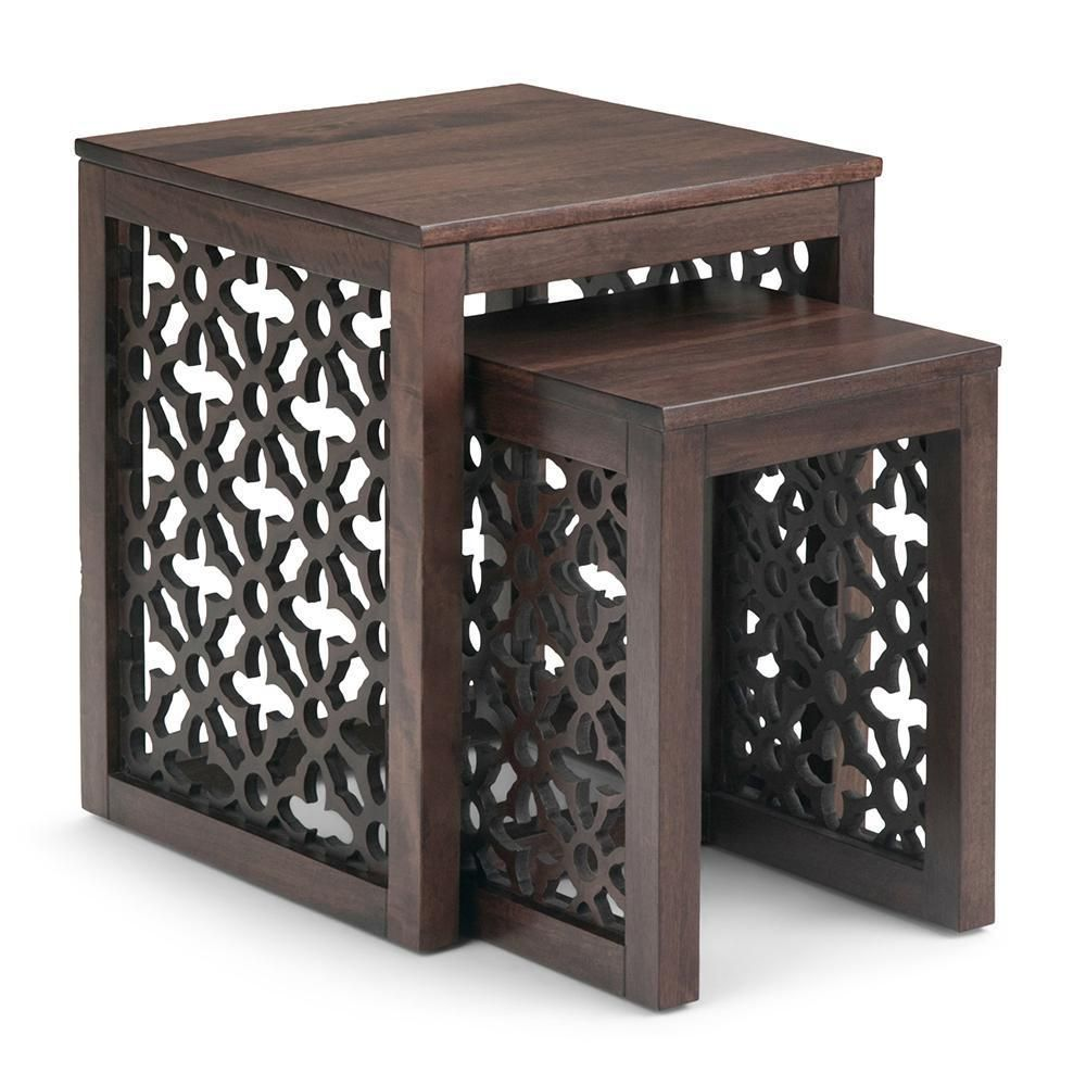 Polly Nesting 2 Pc Table Nesting Tables Simpli Home Table